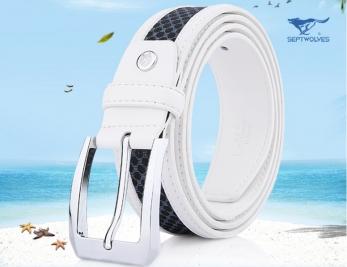 Pánský kožený pásek PAS002190K21