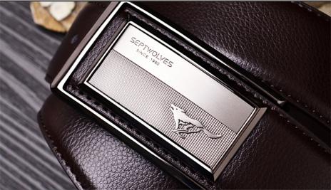 Pánský kožený pásek PAS002190Ka