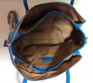 Dámská kožená kabelka 23