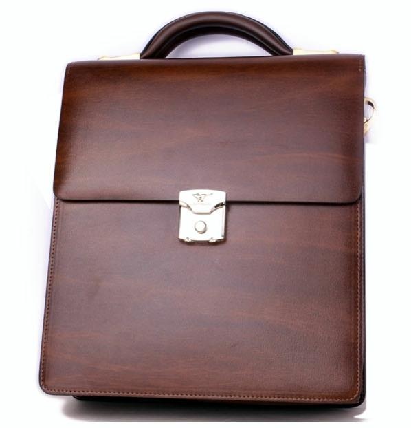 Pánský kožený kufrík 10222083-28  c96dfaaf158
