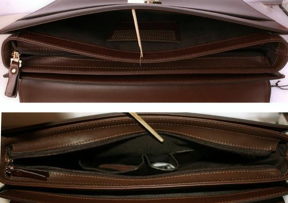 ... Pánský kožený kufrík 10222083-28 e92ba177ebb