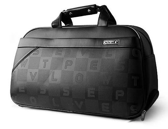 Pánský polokožený kufr 500389