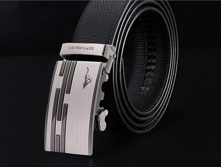 Pánský kožený pásek PAS002190K55